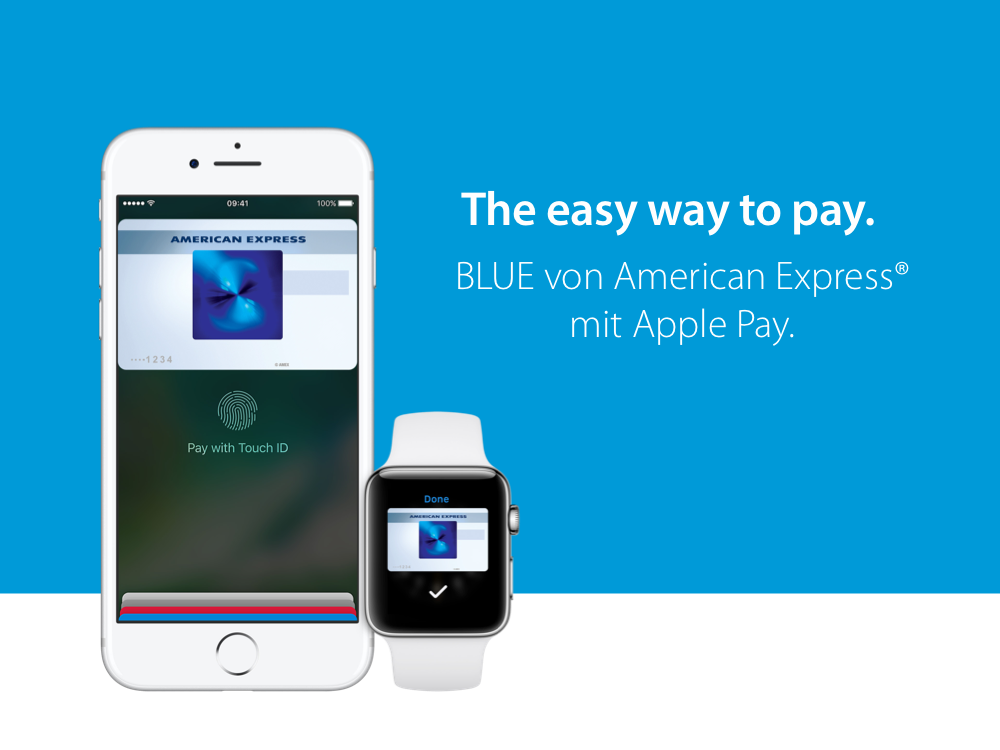 Changing behavior – American Express Blue Card with Apple Pay
