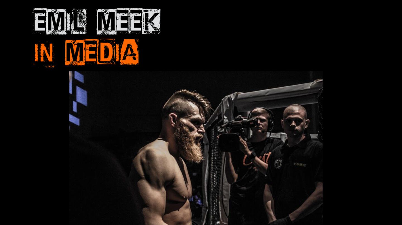 The famous Norwegian MMA-fighter, Emil Meek.